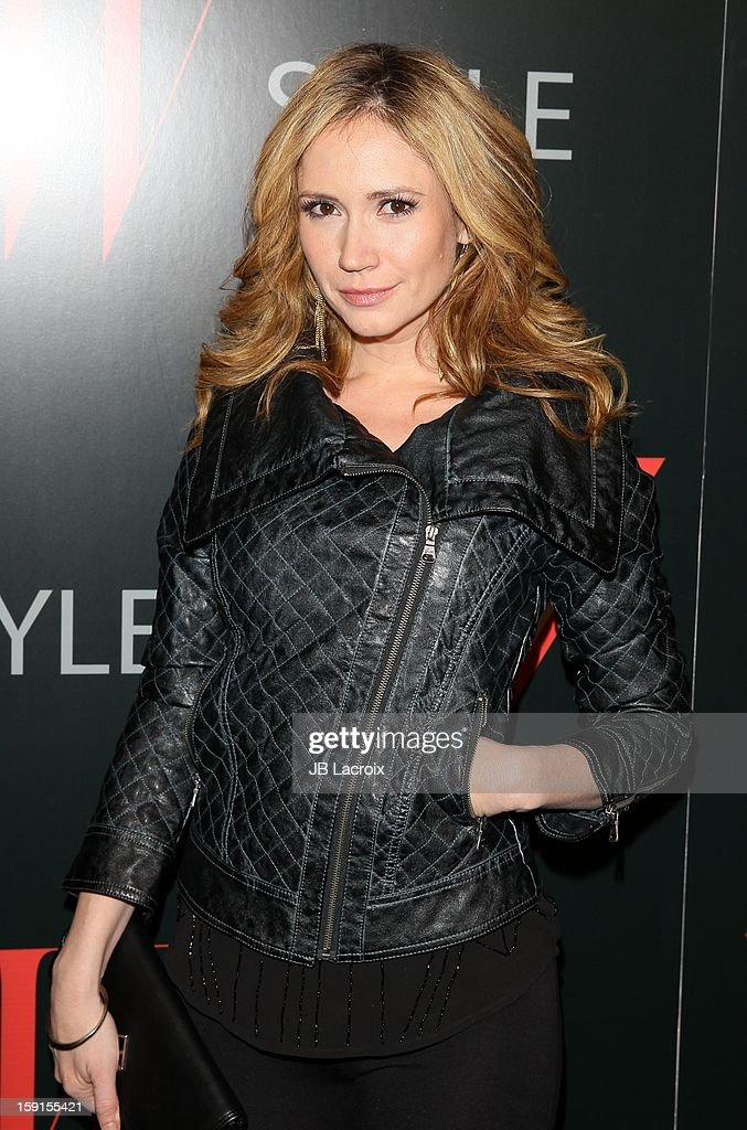 Ashley Jones attends the W Magazine & Guess Host 30 Years of Fashion & Film Next Generation of Style Party at Laurel Hardware on January 8, 2013 in West Hollywood, California.