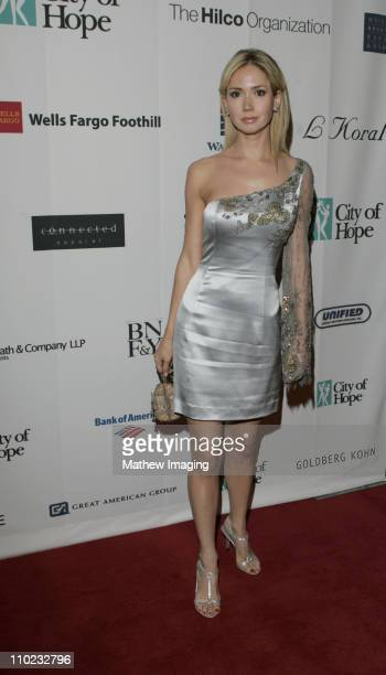 Ashley Jones during City of Hope 2005 Award of Hope Gala Arrivals at The Beverly Hilton Hotel in Beverly Hills California United States