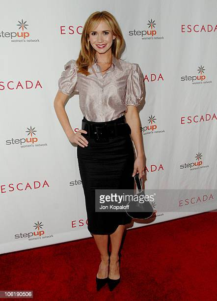 Ashley Jones during Escada And Jessica Alba Toast Step Up Women's Network April 19 2007 at Beverly Wilshire Hotel in Beverly Hills California United...
