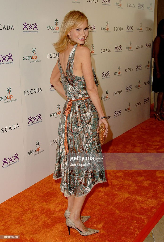 Ashley Jones during Step Up Women's Network Inspiration Awards Sponsored by Escada - Arrivals at Beverly Hilton Hotel in Beverly Hills, California, United States.