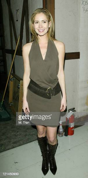 Ashley Jones during 'The Bold and the Beautiful' 5000th Episode Celebration January 23 2007 at Stage 31 CBS Television City in Los Angeles California...
