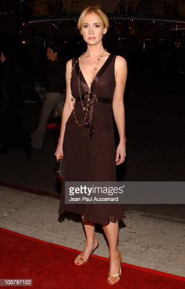 Ashley Jones during 'The Family Stone' Los Angeles Premiere Arrivals at Mann Village Theater in Westwood California United States