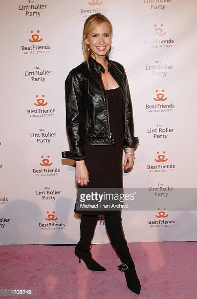 Ashley Jones during The Lint Roller Party Best Friends Animal Society's Annual Fundraiser Benefiting Homeless Pets in Los Angeles at Smashbox Studios...