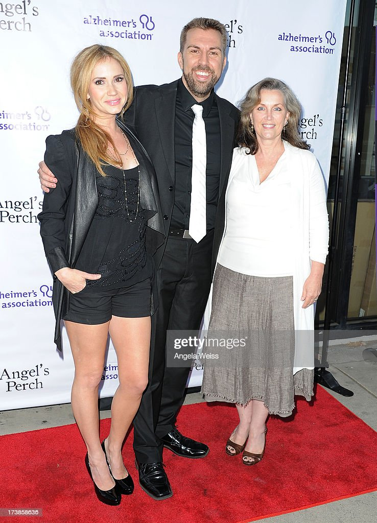 Ashley Jones, J.T. Arbogast and Susan Galeas arrive at the 'Angel's Perch' West Coast Premiere at Laemmle's Royal Theatre on July 17, 2013 in Los Angeles, California.
