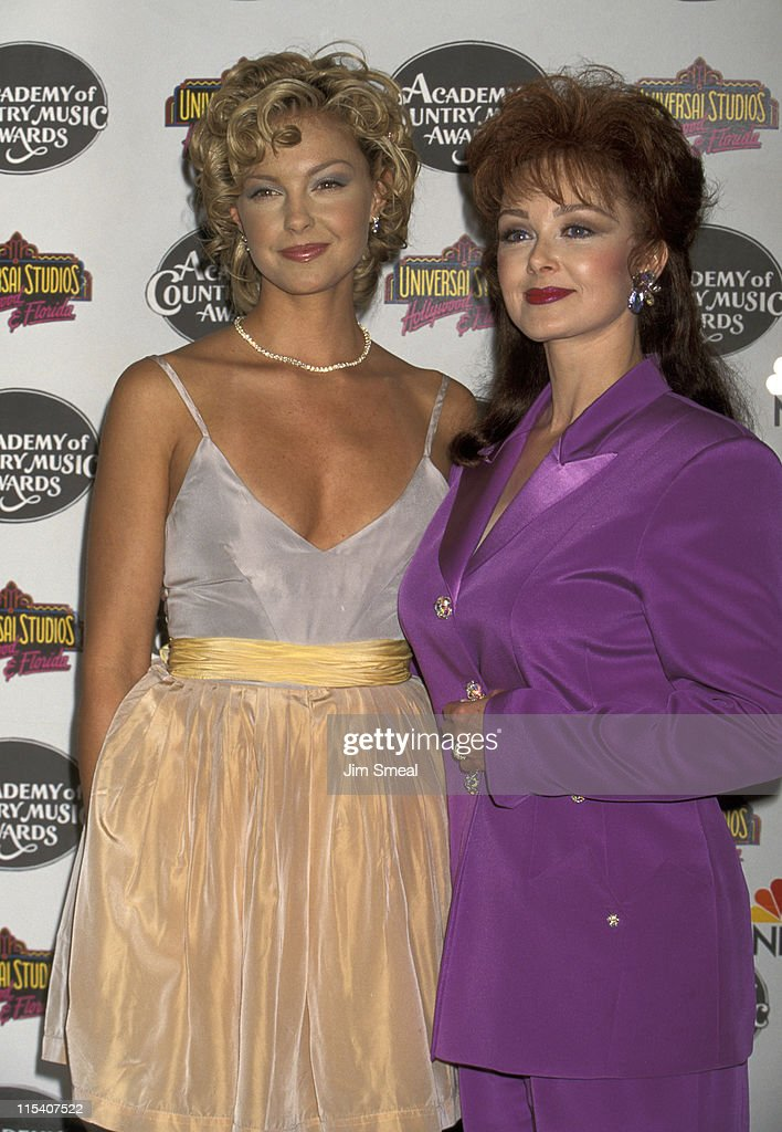 <a gi-track='captionPersonalityLinkClicked' href=/galleries/search?phrase=Ashley+Judd&family=editorial&specificpeople=171188 ng-click='$event.stopPropagation()'>Ashley Judd</a> and <a gi-track='captionPersonalityLinkClicked' href=/galleries/search?phrase=Naomi+Judd&family=editorial&specificpeople=206795 ng-click='$event.stopPropagation()'>Naomi Judd</a> during 30th Annual Academy of Country Music Awards at Universal Amphitheatre in Universal City, California, United States.