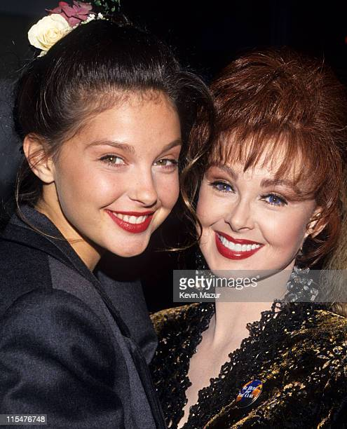 Ashley Judd and Naomi Judd during APLA 6th Commitment to Life Concert Benefit at Universal Amphitheater in Universal City California United States