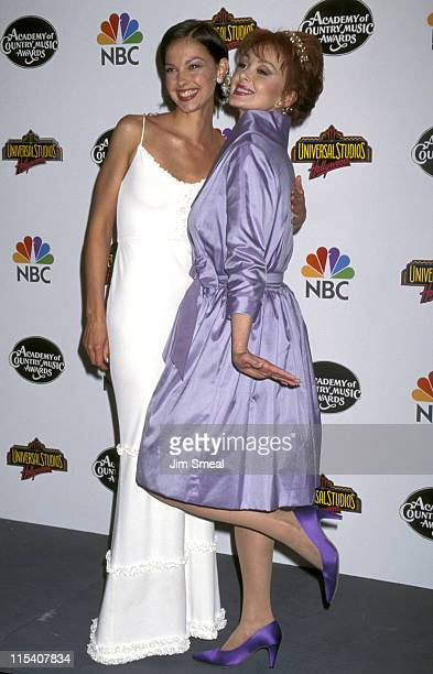 Ashley Judd and Naomi Judd during The 32nd Annual Academy of Country Music Awards Arrivals and Pressroom at Universal Amphitheatre in Universal City...