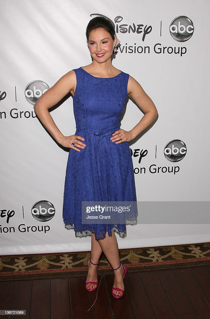 <a gi-track='captionPersonalityLinkClicked' href=/galleries/search?phrase=Ashley+Judd&family=editorial&specificpeople=171188 ng-click='$event.stopPropagation()'>Ashley Judd</a> arrives to Disney ABC Television Group's 'TCA Winter Press Tour' at the Langham Huntington Hotel on January 10, 2012 in Pasadena, California.