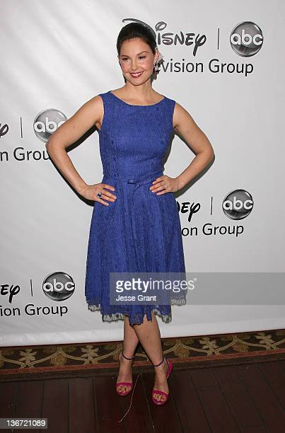 Ashley Judd arrives to Disney ABC Television Group's 'TCA Winter Press Tour' at the Langham Huntington Hotel on January 10 2012 in Pasadena California
