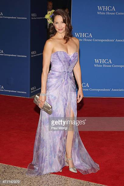 Ashley Judd attends the 101st Annual White House Correspondents' Association Dinner at the Washington Hilton on April 25 2015 in Washington DC