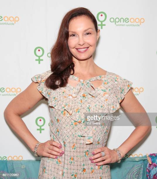 Ashley Judd attends the APNE Aap dinner on September 21 2017 in New York City