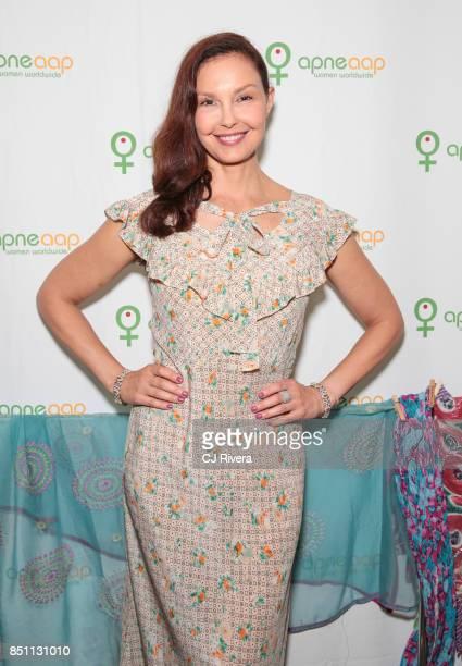 Ashley Judd attends the APNE Aap dinner on September 21 2017 in New York City