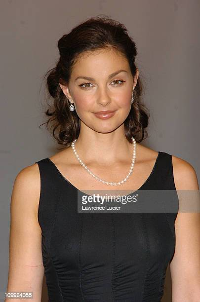 Ashley Judd during Ashley Judd at the Window Unveiling of Armani Fashions Inspired by her New Film DeLovely at Bloomingdale's in New York City New...