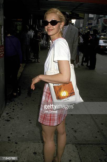 Ashley Judd during Ashley Judd Sighting in Times Square May 25 1994 at Times Square in New York City New York United States