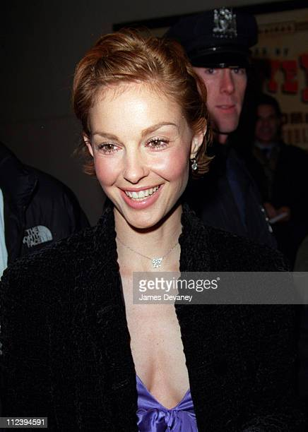 Ashley Judd during Ashley Judd Visits the 'Late Show With David Letterman' March 29 2001 at The Ed Sullivan Theater in New York City New York United...
