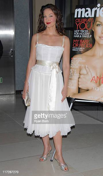 Ashley Judd during Marie Claire Hosts a Special Screening of Ashley Judd and Youthaids Confronting the Pandemic at Hearst Tower in New York City New...