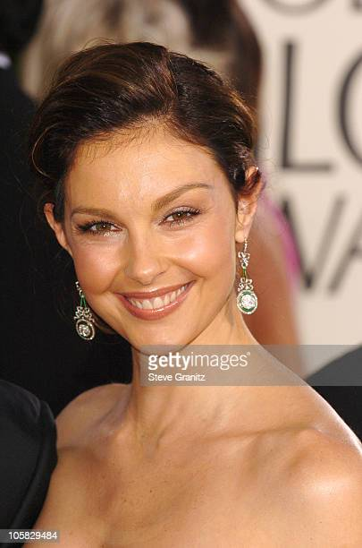 Ashley Judd during The 62nd Annual Golden Globe Awards Arrivals at Beverly Hilton Hotel in Los Angeles California United States