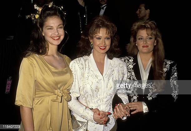 Ashley Judd Naomi Judd and Wynonna Judd during 19th Annual American Music Awards at Shrine Auditorium in Los Angeles California United States