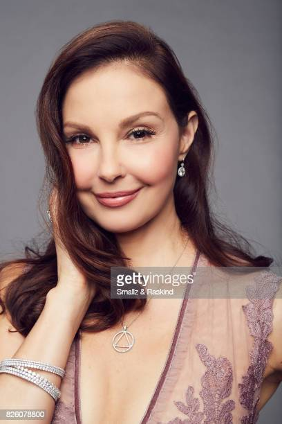 Ashley Judd of EPIX 'Berlin Station' poses for a portrait during the 2017 Summer Television Critics Association Press Tour at The Beverly Hilton...