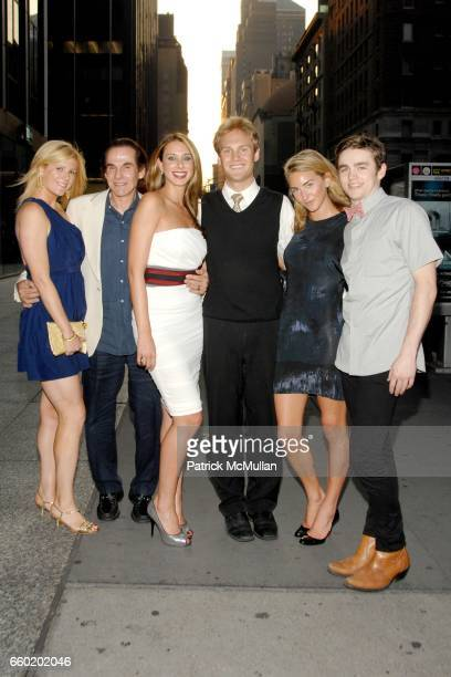 Ashley Krupin R Couri Hay James Francis Ginty Jamie Jo Harris Sarah Bradford and Carter Unger attend World Premiere of HOMECOMING at MGM Screening...
