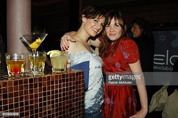 Ashley Louer and Lindsay Hunter attend Liev Schreiber hosts DEWAR'S 12 'Hot Scot' at Cielo on April 5 2006 in New York City