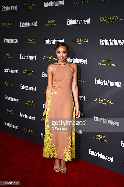 Ashley Madekwe attends the 2014 Entertainment Weekly PreEmmy Party at Fig Olive Melrose Place on August 23 2014 in West Hollywood California