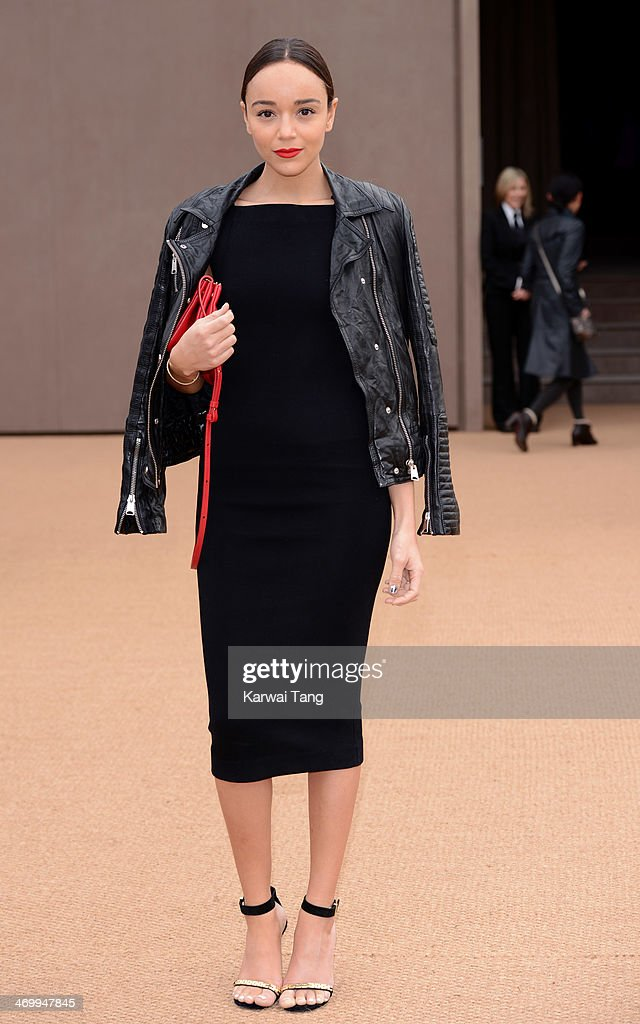 <a gi-track='captionPersonalityLinkClicked' href=/galleries/search?phrase=Ashley+Madekwe&family=editorial&specificpeople=5526423 ng-click='$event.stopPropagation()'>Ashley Madekwe</a> attends the Burberry Prorsum show at London Fashion Week AW14 at Kensington Gardens on February 17, 2014 in London, England.