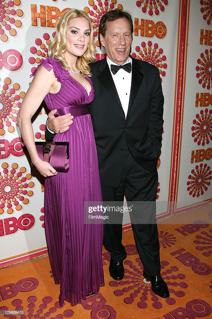 Ashley Madison and James Woods attends HBO's Official Emmy After Party at The Plaza at the Pacific Design Center on September 18 2011 in Los Angeles...