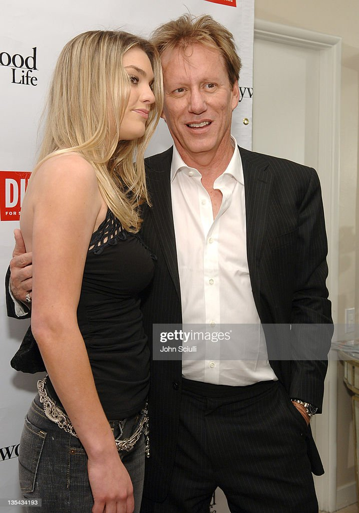 Ashley Madison and James Woods during Diesel Presents Young Hollywood Awards Countdown March 30 2006 at Liberace's Penthouse in Los Angeles...