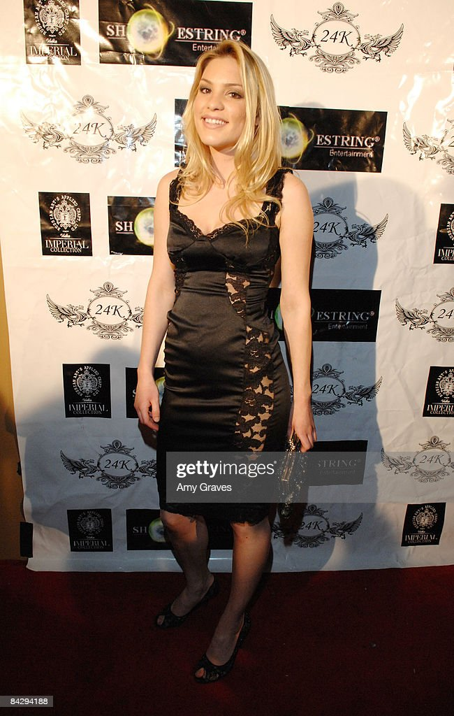 Ashley Madison attends the Birthday Bash for Hollywood Publicist Charmaine Blake on January 14 2009 in Los Angeles California