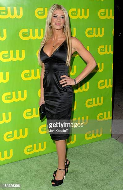 Ashley Massaro during The CW Winter TCA All Star Party Arrivals at Ritz Carlton in Pasadena California United States