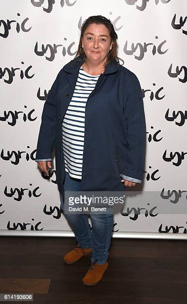 Ashley McGuire attends the press night performance of 'Shopping And Fucking' at The Lyric Hammersmith on October 12 2016 in London England