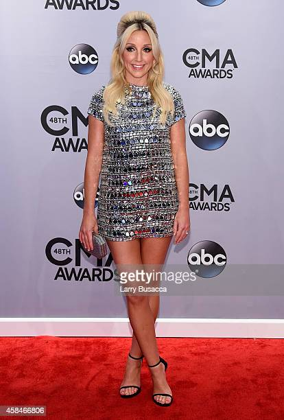 Ashley Monroe attends the 48th annual CMA Awards at the Bridgestone Arena on November 5 2014 in Nashville Tennessee