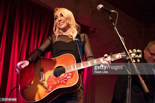 Ashley Monroe performs at Bush Hall on March 15 2016 in London England