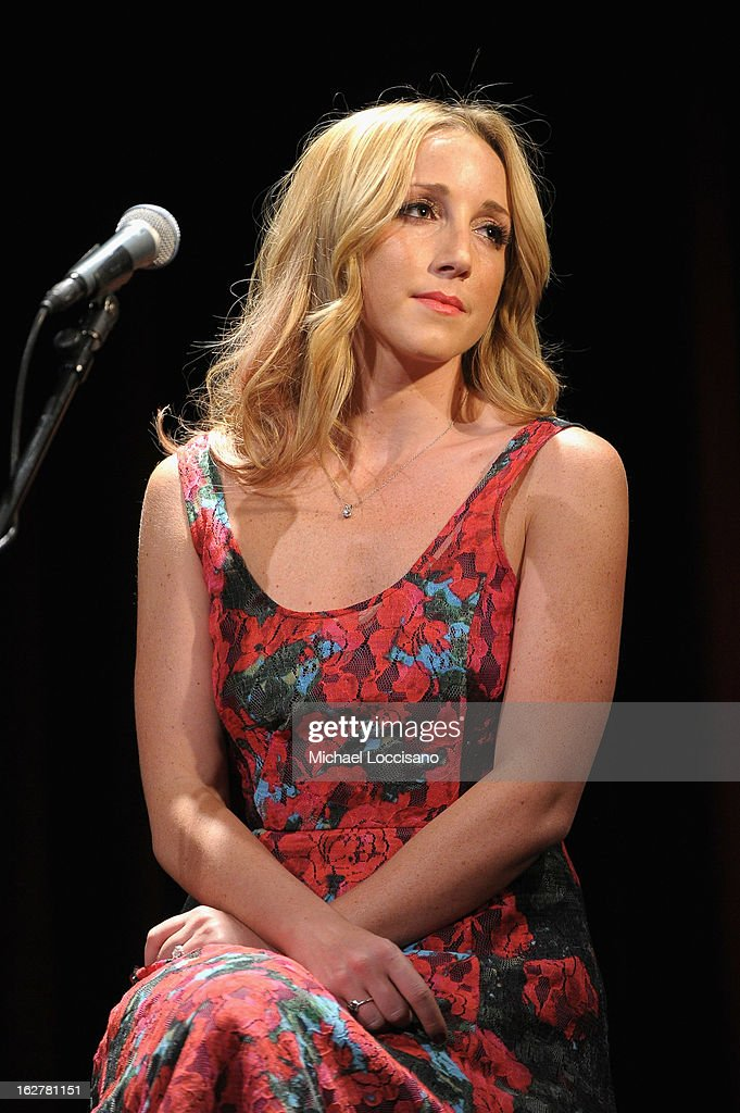 Ashley Monroe performs during the All For the Hall New York concert benefiting the Country Music Hall of Fame at Best Buy Theater on February 26, 2013 in New York City.