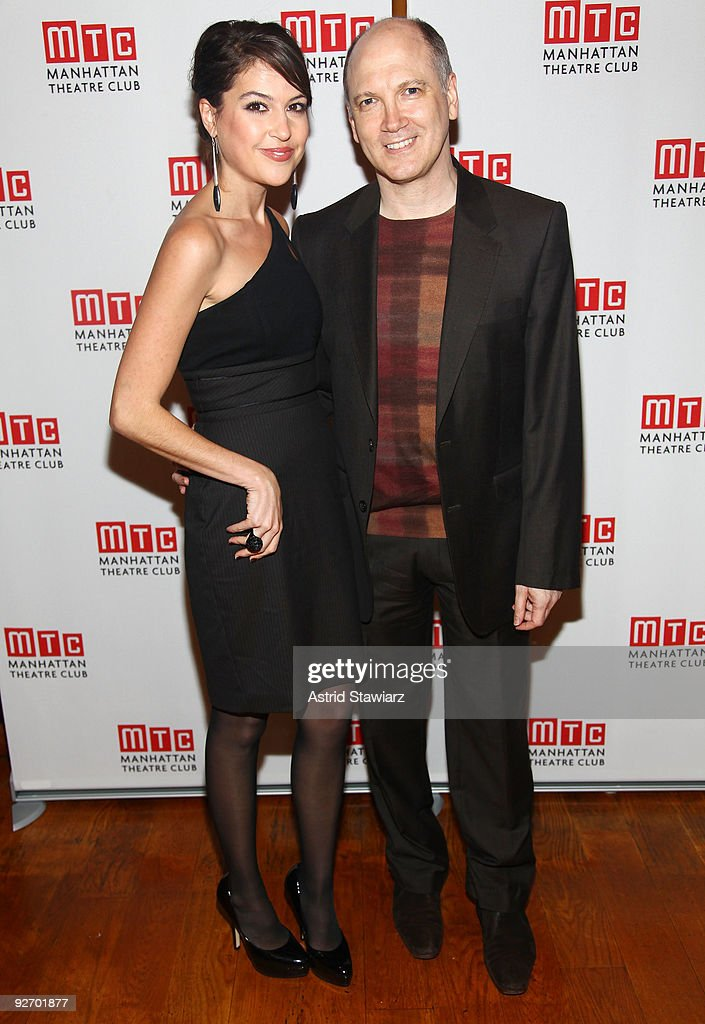 Ashley Morris and Charles Bush attends the opening night after party for 'Nightingale' at Beacon on November 3 2009 in New York City