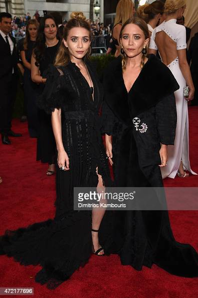 Ashley Olsen and MaryKate Olsen attend the 'China Through The Looking Glass' Costume Institute Benefit Gala at the Metropolitan Museum of Art on May...