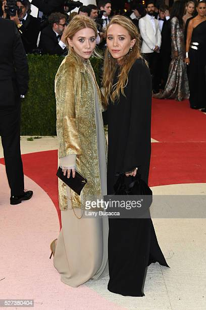 Ashley Olsen and MaryKate Olsen attend the 'Manus x Machina Fashion In An Age Of Technology' Costume Institute Gala at Metropolitan Museum of Art on...