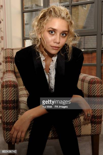 Ashley Olsen attending a photocall for the launch of her new perfume line London