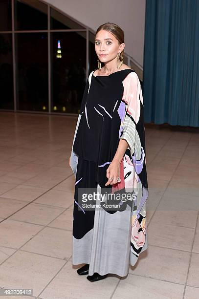 Ashley Olsen attends Hammer Museum's 'Gala in the Garden' Sponsored by Bottega Veneta at Hammer Museum on October 10 2015 in Westwood California