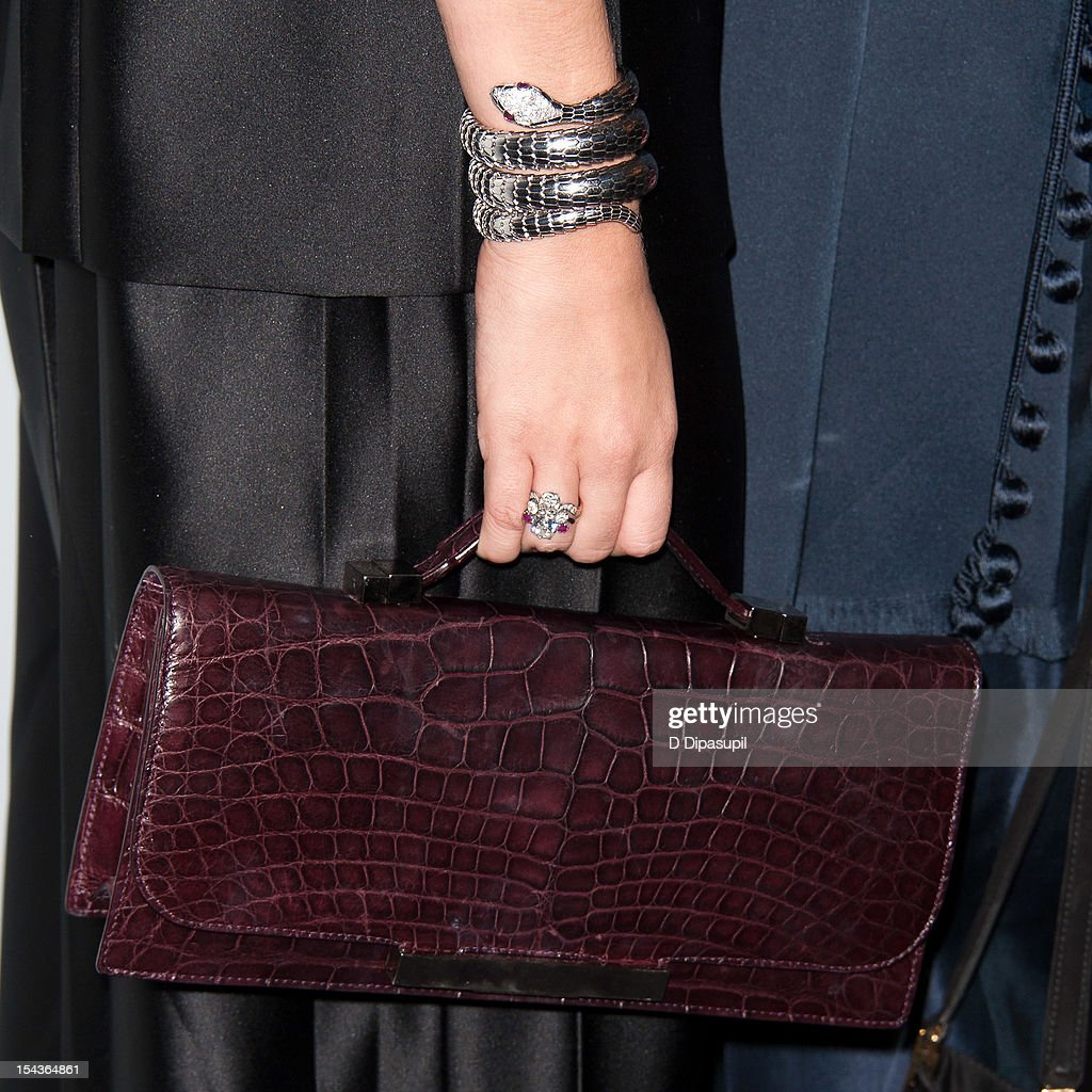 Ashley Olsen (bag/jewelry detail) attends the 2012 WSJ. Magazine 'Innovator Of The Year' Awards at the Museum of Modern Art on October 18, 2012 in New York City.