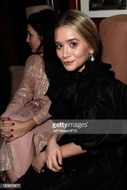 Ashley Olsen attends the 2013 Vanity Fair Oscar Party hosted by Graydon Carter at Sunset Tower on February 24 2013 in West Hollywood California