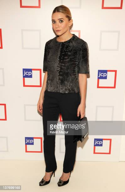 Ashley Olsen attends the jcpenney launch event at Pier 57 on January 25 2012 in New York City