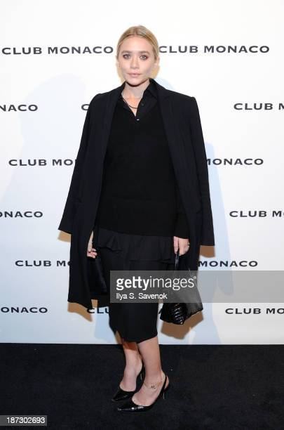 Ashley Olsen attends the opening celebration of Club Monoco's Fifth Avenue Flagship at Club Monaco Fifth Avenue on November 7 2013 in New York City