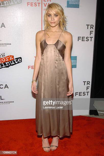 Ashley Olsen during 3rd Annual Tribeca Film Festival New York Minute Premiere Arrivals at Tribeca Performing Arts Center in New York City New York...