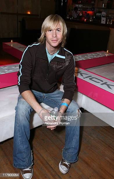 Ashley Parker Angel during 2006 MTV Video Music Awards TMobile Sidekick 3 at the Polaroid Lounge and Gifting Suite at Marquee Day 2 at Marquee in New...
