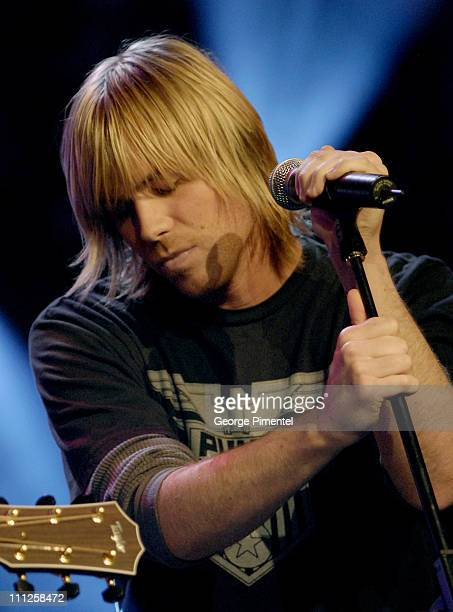 Ashley Parker Angel during Ashley Parker Angel Performs On LIVE MTV Canada at Masonic Temple in Toronto Ontario Canada