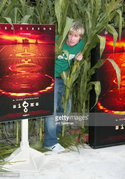 Ashley Parker Angel of OTown clowning around during 'Signs' Premiere New York at Alice Tully Hall in New York City New York United States