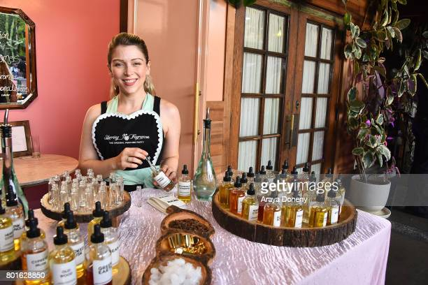 Ashley Peldon Starring Fragrances attends the Official Raze Launch Party at Smogshoppe on June 26 2017 in Los Angeles California