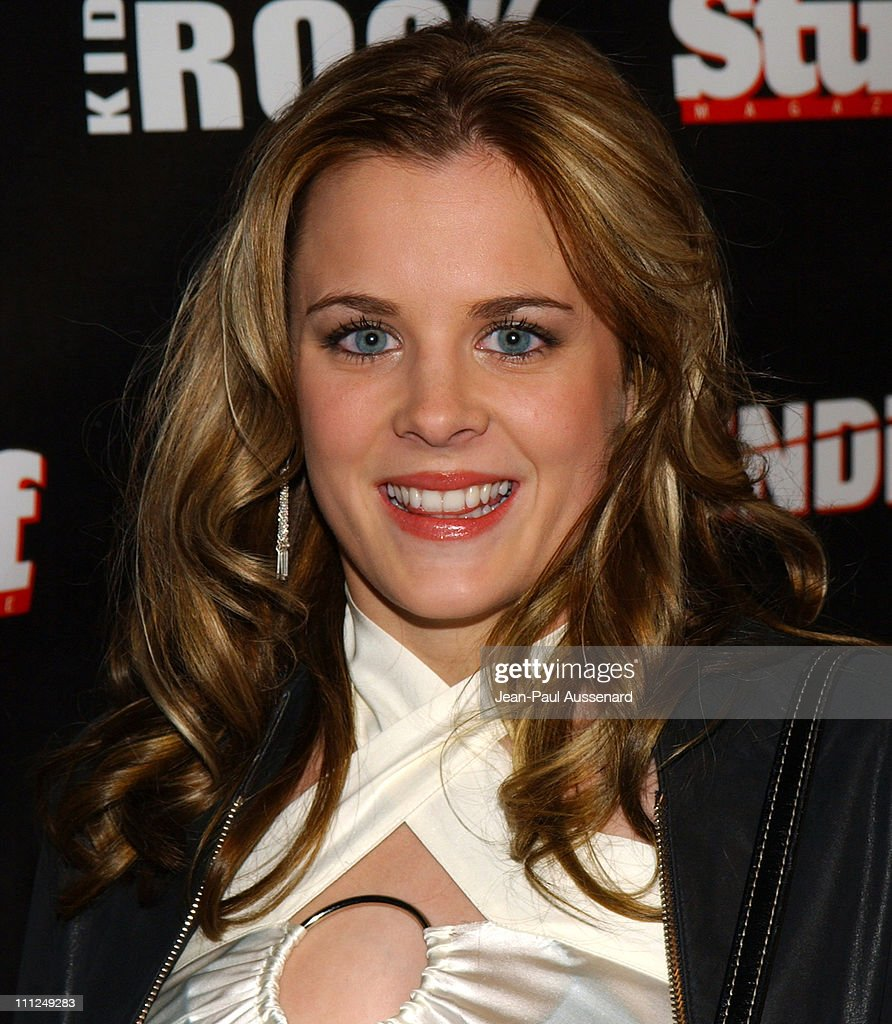 Ashley Poole during STUFF Magazine and Blender Host Kid Rock's After - Party For The 2003 American Music Awards- Red Carpet/Inside at Forbidden City in Hollywood, California, United States.